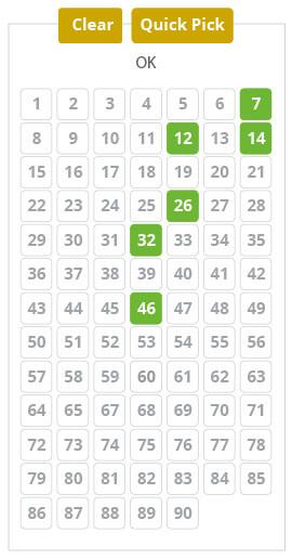 super-ena-lotto - number picker image
